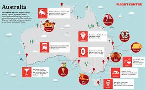 aussie map plot your aussie getaway flight centre travel