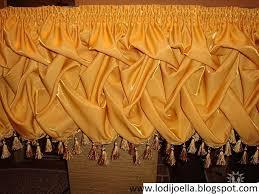 cenefas de tela para cortinas cortinas decorativas paso a paso lodijoella