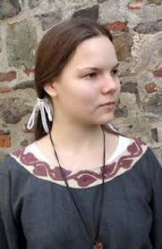 viking anglo saxon hairstyles tailor s jana woman anglo saxon dress part 3 inspiration for