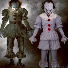 aliexpress com buy pennywise cosplay costume stephen king u0027s mask