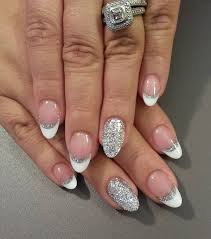 best 25 white oval nails ideas on pinterest engagement nails
