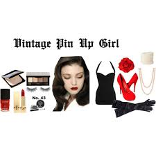 pin up girl costume vintage pin up girl costume polyvore