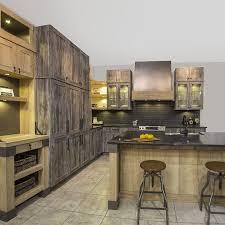 Grange Armoire Armoires De Cuisine Au Style Rustique Avec Mélamine Imitation