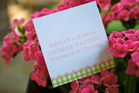 what to say in a bridal shower card best shower