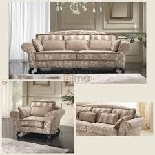 canapé classique tissu canapé design classique tissu décor grand confort coussins en option
