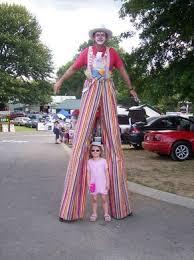 clown stilts stilt walkers auckland