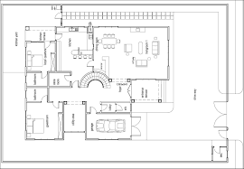 sweet 5 ground floor plans house with measurement home array