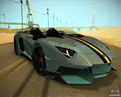 Lamborghini Aventador J Black - lamborghini aventador j for gta san andreas