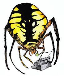 naomese naomi bardoff u0027s art blog spider typewriter