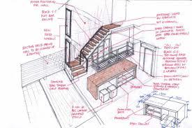 Interior Design Sketches Bedroom Interior Design Bedroom Sketches Interior Design Student