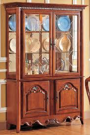 amusing rectangle shape brown wooden hutch kitchen furniture with