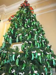 christmas pickle tradition of the pickle tree in epcot s germany pavilion
