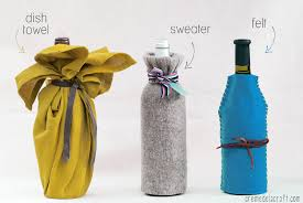 wine bottle wraps diy wine bottle wrap 3 ways