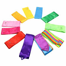 ribbon for hair that says gymnastics hot sale new 4m dance ribbon multi color streamer training ballet
