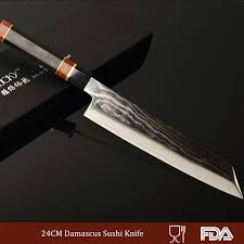 Kitchen Knives On Sale 240mm Damascus Steel Kitchen Knife Japanese Sushi Knife Japanese