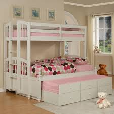 bedroom kids white single bed kids high beds youth twin bed
