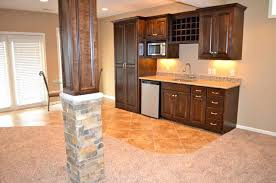 lally column wood wrap novi finished basement basement pole wrap