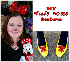 diy minnie mouse costume mouse 2017