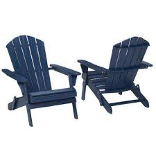 Yellow Plastic Adirondack Chair Adirondack Chairs Patio Chairs The Home Depot