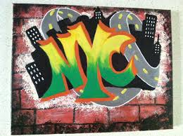 graffiti wall maker crafted graffiti style painting letters banners by regalos by