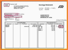 Excel Pay Stub Template Free 4 Free Excel Pay Stub Template Sles Of Paystubs