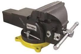 6 Inch Bench Vise New Olympia Tool 38 647 Heavy Duty 6