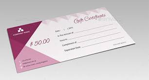 8 email gift certificate templates u2013 free sample example format