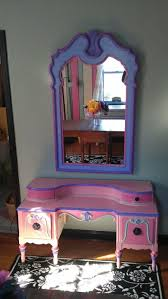 Little Girls Vanity Playset This Antique Child U0027s Vanity Matches Well With The Mirror Paint