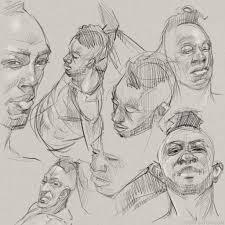 morning drawing u2013 faces scott eaton