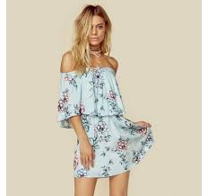planet blue brigitte mini dress