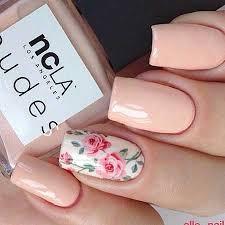 17 simple flower nail designs u2013 nail art designs 2017