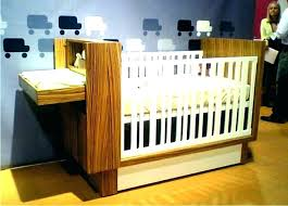 Convertible Cribs With Storage Mini Crib With Changing Table Home Design