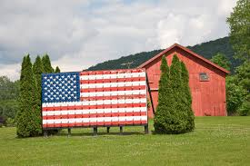 American Flag House Fourth Of July Art Ten Unconventional Flags That Make Us Proud To