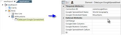 datalayer google spreadsheet