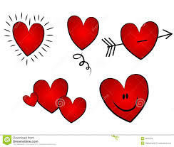 valentine u0027s day clipart small heart pencil and in color