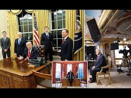 Trump In The Oval Office Donald Trump Makes Changes In The Oval Office Youtube