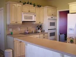 refinished oak cabinets white kitchen paint color with honey oak