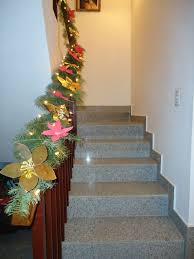 Handrail Christmas Decorations You Can Make Your Own Christmas Garland Dave U0027s Garden