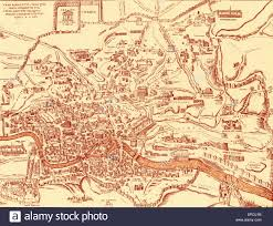 Map Of Ancient Italy by Map Of City Of Rome And Its Ancient Monuments In U0027civitas Oreis