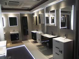 hib showcase novum bathroom furniture in new trade showroom hib