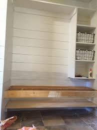 Build A Shoe Bench Build A Floating Bench And Shoe Shelf The Schmidt Home