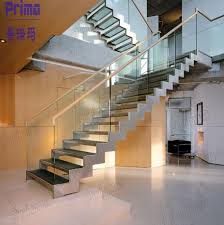 indoor interior solid wood stairs wooden staircase stair double stringer l shape modern indoor solid wood straight staircase