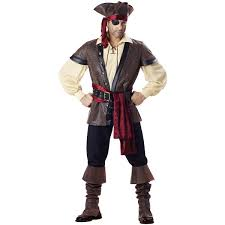 halloween costumes for women pirate amazon com incharacter costumes men u0027s rustic pirate costume clothing