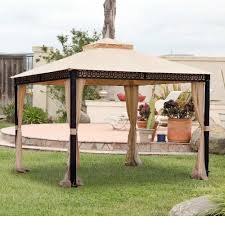 Replacement Awnings For Gazebos Deck Canopy Awning Deck Design And Ideas