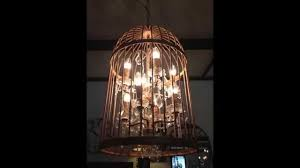 How To Make A Birdcage Chandelier Decorating A Birdcage Decorating A Birdcage Decor