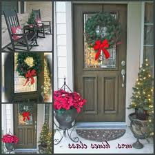Simple Elegant Christmas Decor by Exterior Christmas Decorating Ideas Porches And Patios For Small