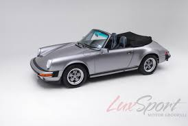 porsche model car 1988 porsche 911 carrera anniversary edition stock 1988103 for