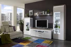 Wohnzimmerschrank Von Musterring Weiß Hochglanz Wohnwände Und Weitere Wohnwände Günstig Online