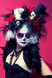 Day Of The Dead White Day Of The Dead Costumes White Day Of The Dead Victorian Skull
