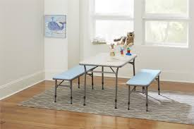 adjustable height kids table zoomie kids epping adjustable height kids 3 piece rectangular table